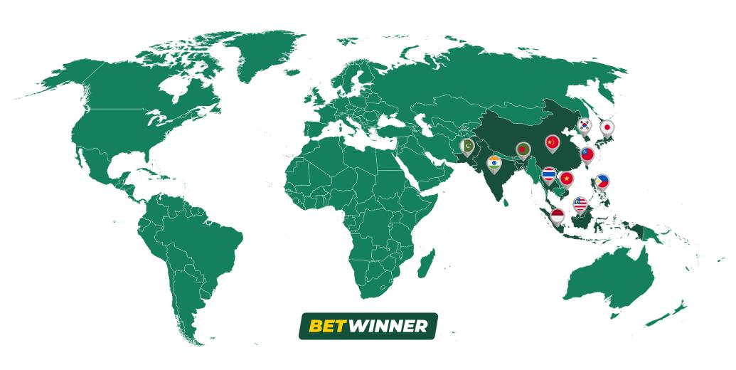 Betwinner Map